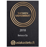 Betoco Oy - Suomen vahvimmat
